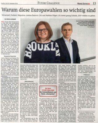Wiener Zeitung - 2018-12-22
